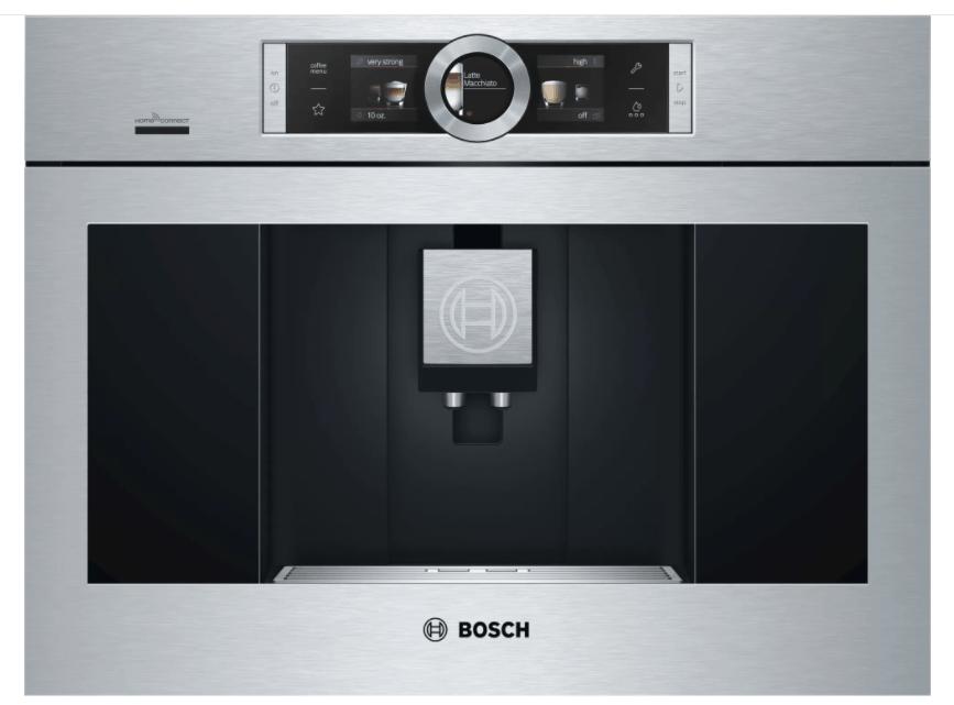 bosch built in coffee maker