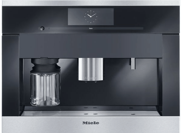 miele built in coffee maker
