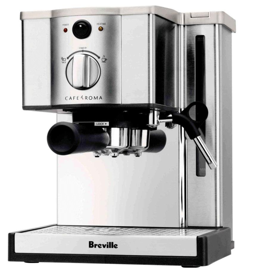 breville cafe roma esp8xl espresso maker