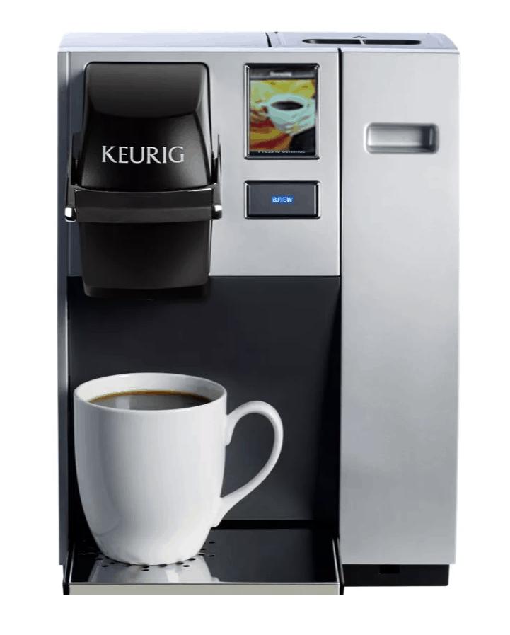 Keurig K150 coffee maker with waterline