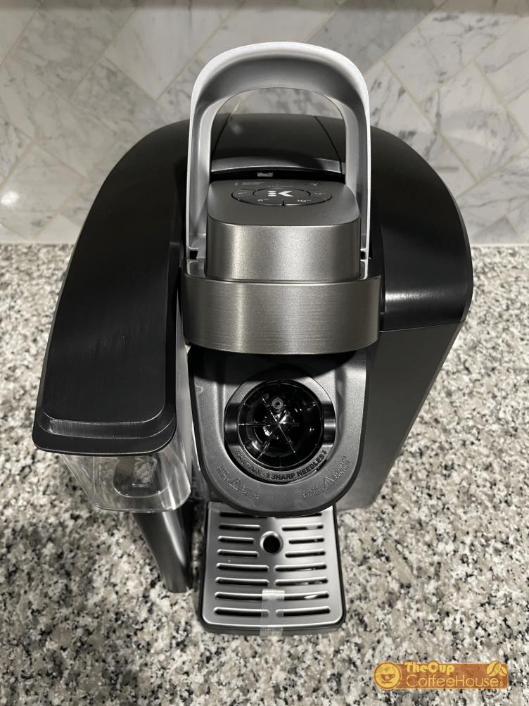 keurig k1500 coffee maker top open