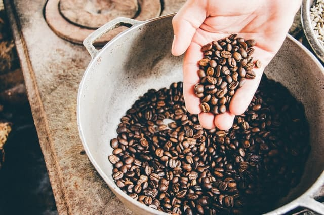 grind and brew coffee maker beans